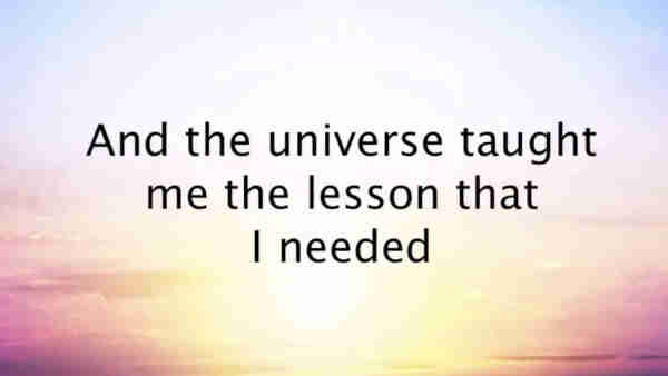 Universe Taught
